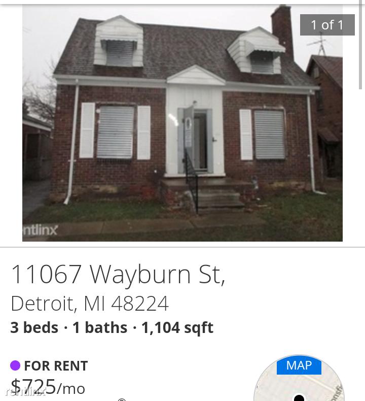 11067 wayburn st detroit mi 48224 3 bedroom house for rent for 690 month zumper