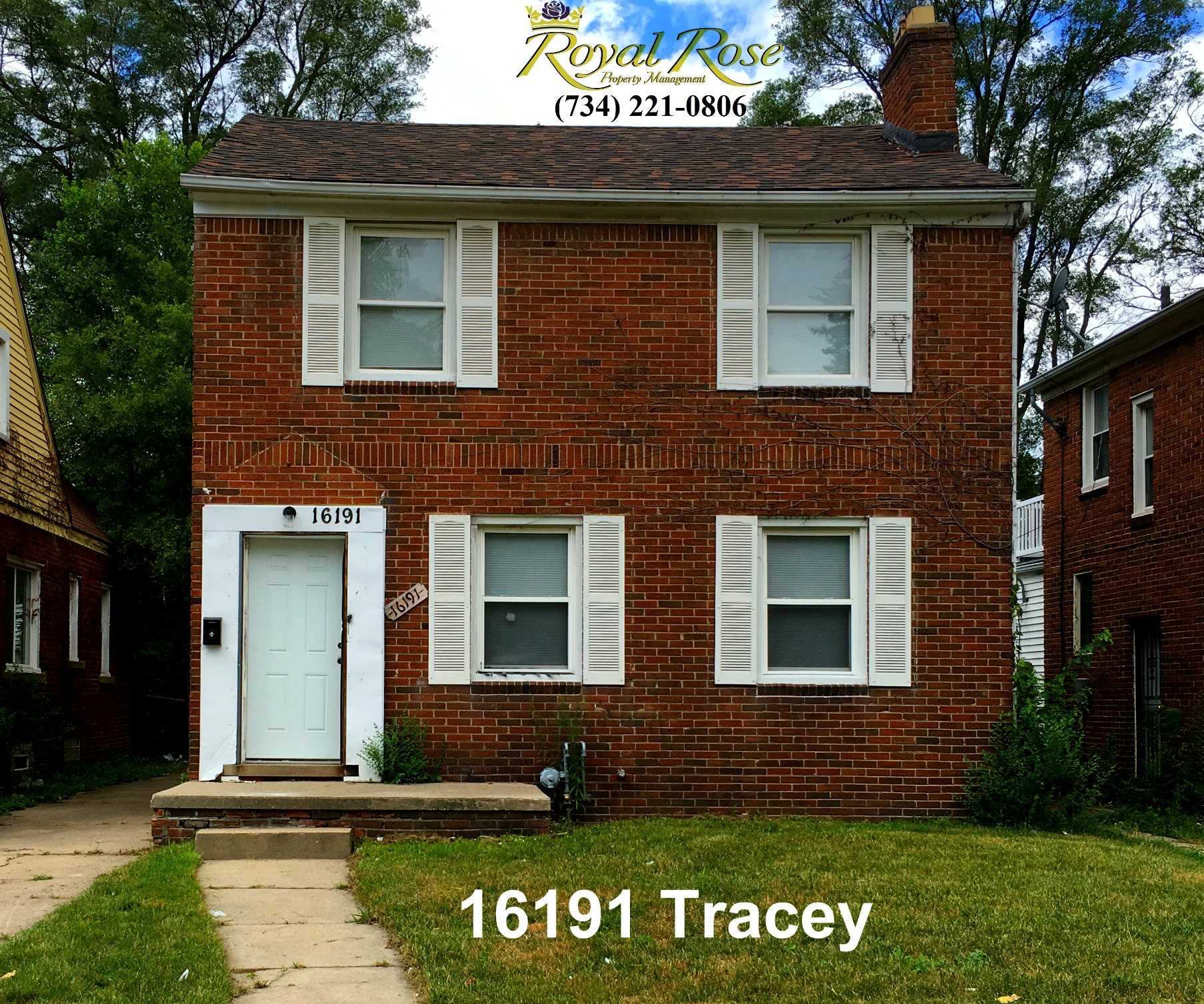 16191 Tracey St, Detroit, MI 48235 3 Bedroom Apartment For