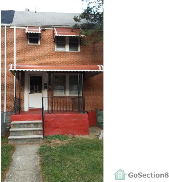 5331 cordelia ave baltimore md 21215 3 bedroom house for 3 bedroom apartments in baltimore city