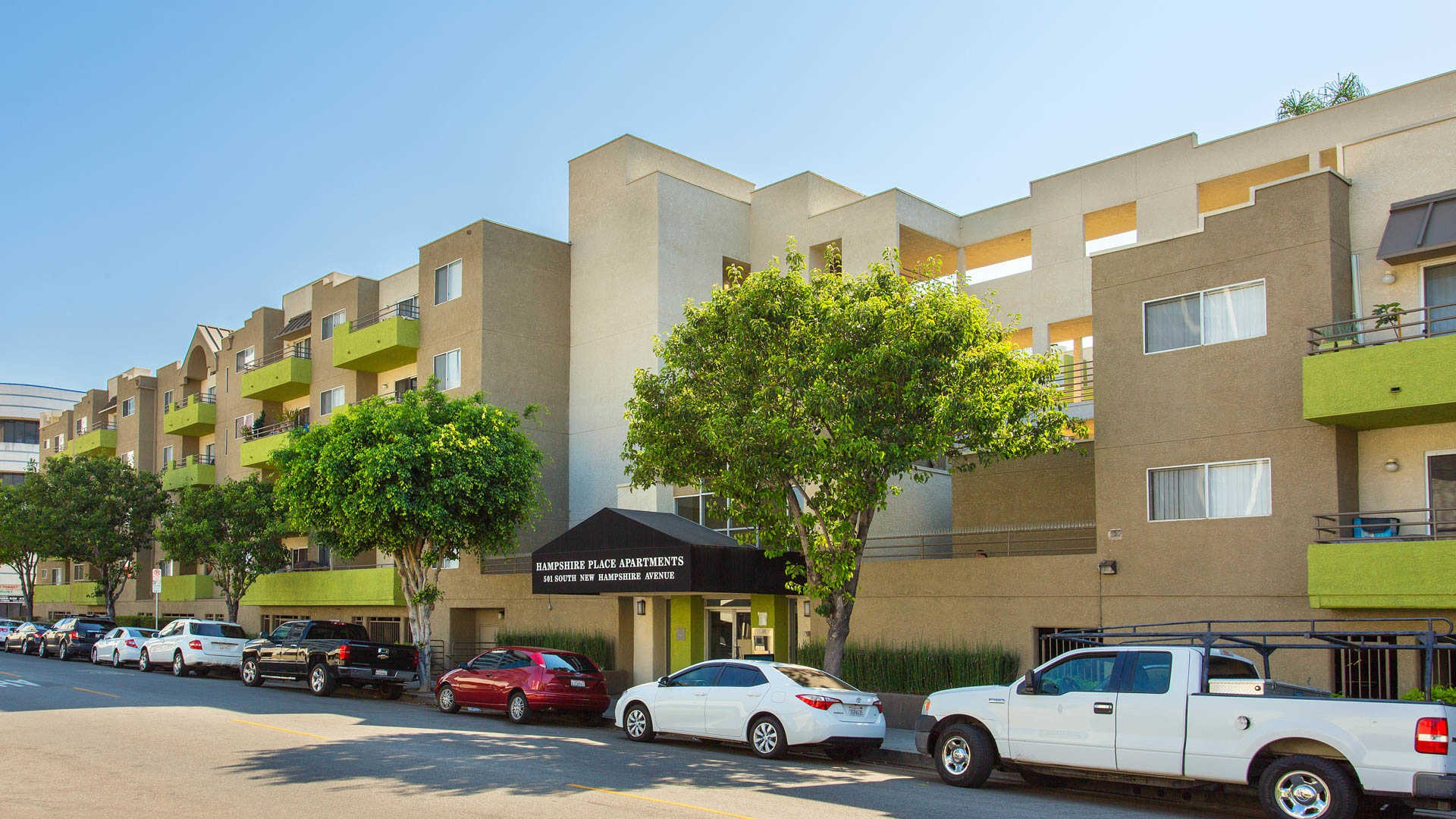 Hampshire Place Apartments for Rent 501 S New Hampshire Ave Los