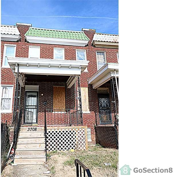 3 Bedrooms Apartment For Rent: 3708 Hayward Ave, Baltimore, MD 21215 3 Bedroom Apartment