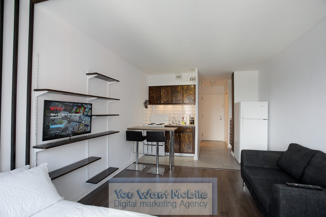 Studio Apartment Montreal 3455 rue durocher #707, montréal, qc h2x 2c9 - studio apartment