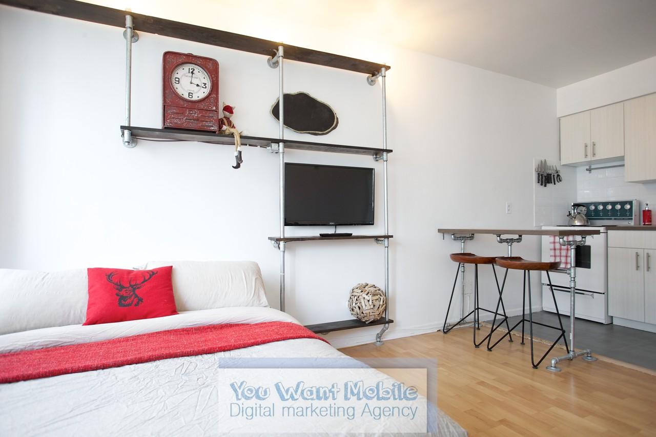 Studio Apartment Montreal 3455 rue durocher #914, montréal, qc h2x 2c9 - studio apartment