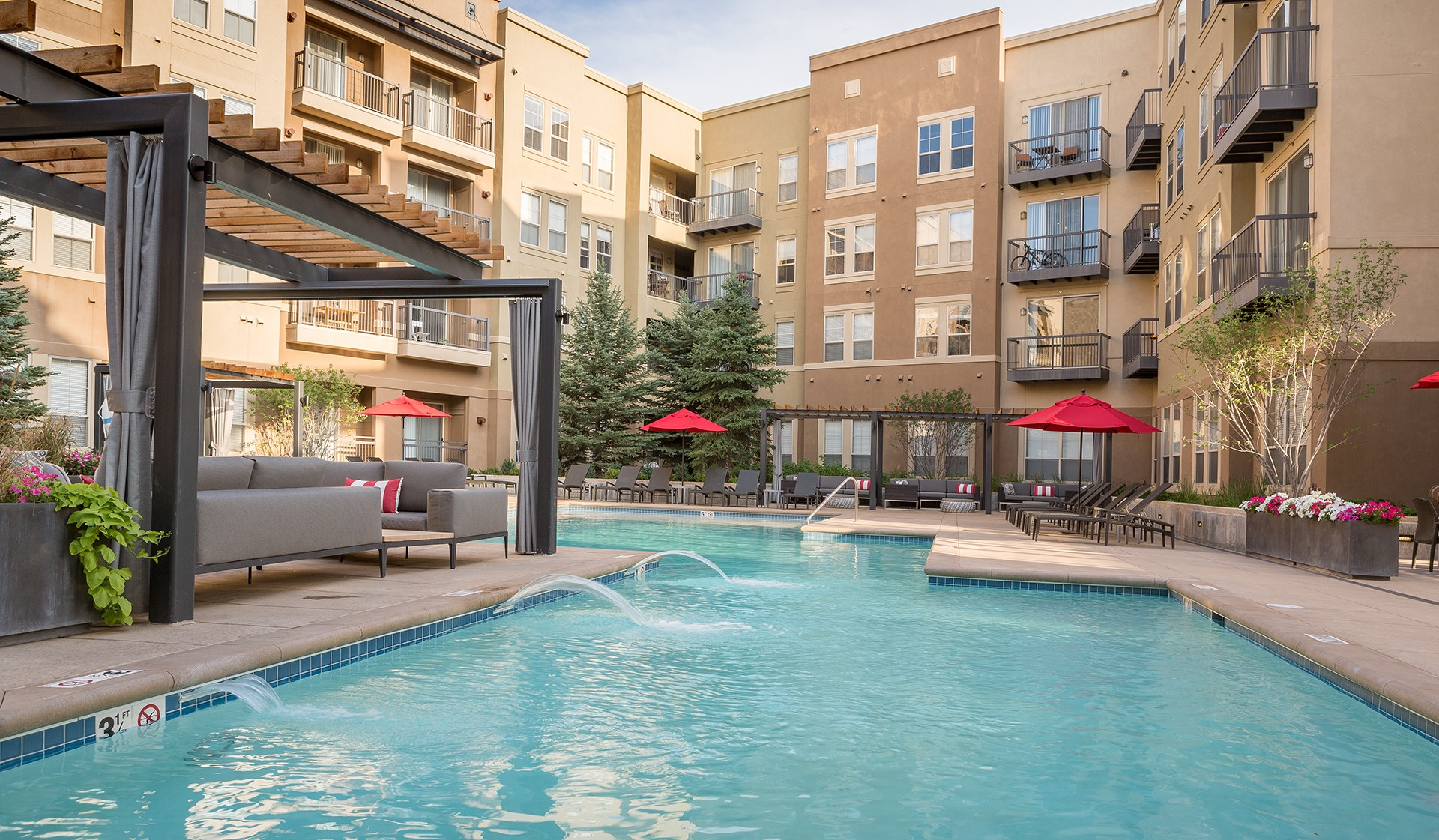 different partnered co with conveniently in one college dorm complexes traditional tech six denver apartment has style lincoln property technology and of