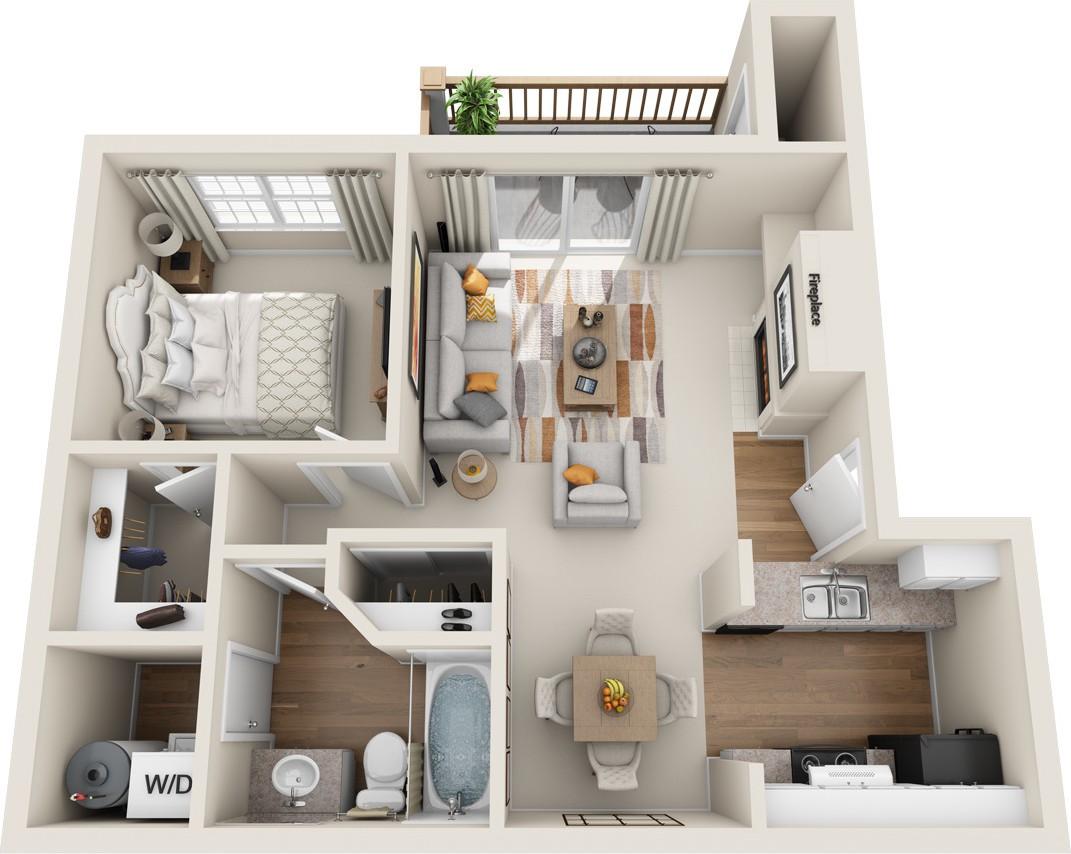 Bradford Park Apartment Homes, Lynnwood - (see pics & AVAIL)