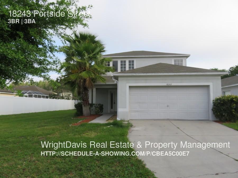 18243 Portside St Tampa Fl 33647 3 Bedroom Apartment For Rent Padmapper