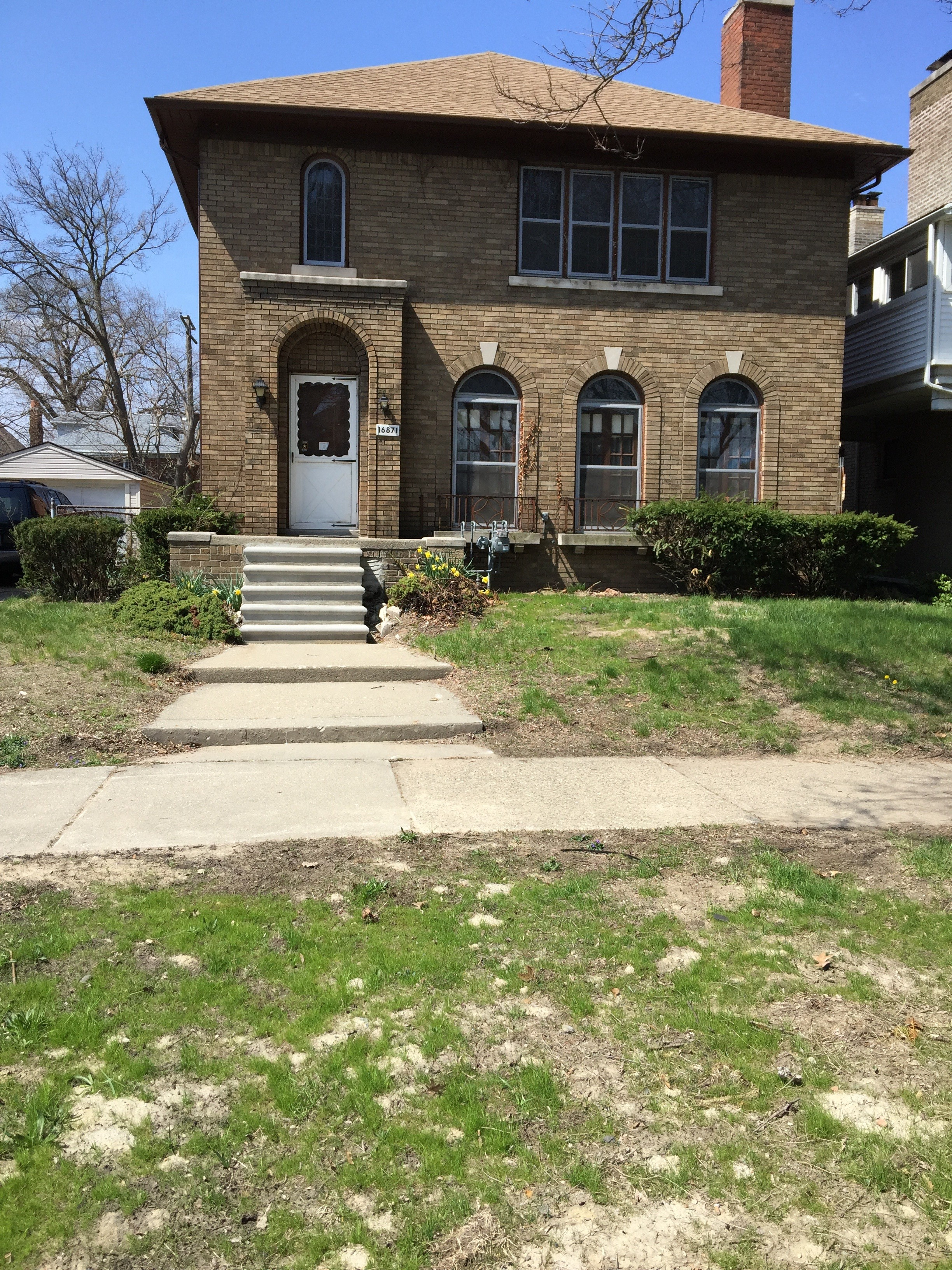 16871 Baylis St Detroit Mi 48221 2 Bedroom Apartment